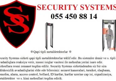 ❊Qapı tipli metal detektorları ❊ 055450 88 14 ❊